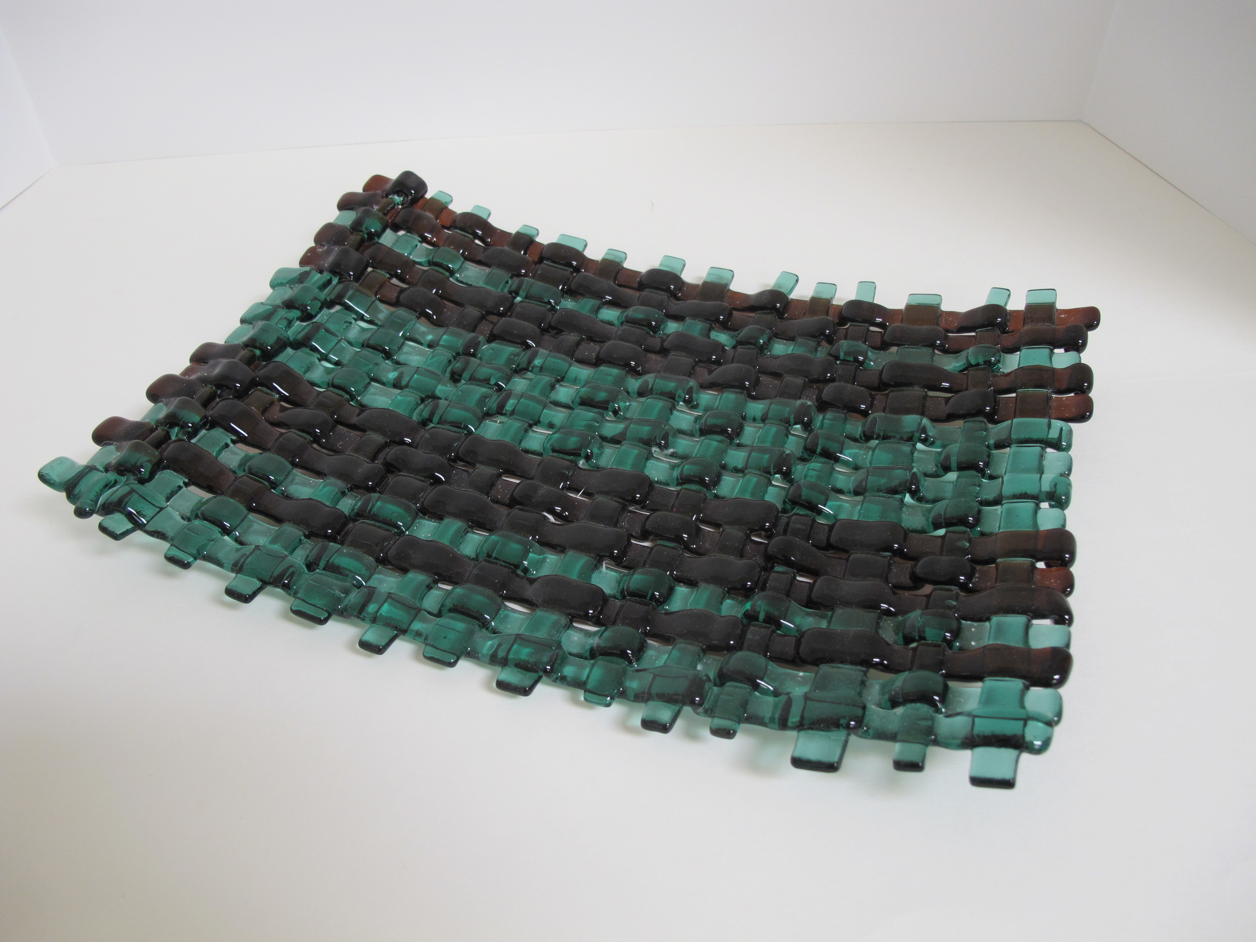 Green and Brown weave.JPG