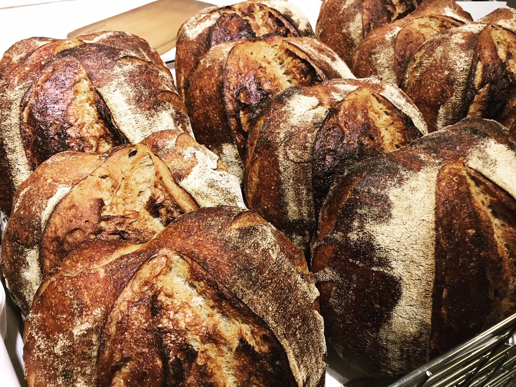 Order your bread and pastries before 7.30am - Collect and pay at the bakery