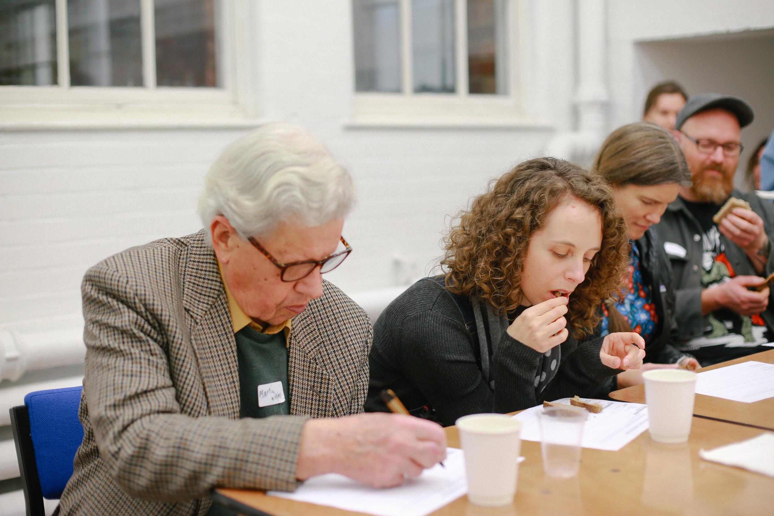 Sensory evaluation session at UK Grain Lab 2017