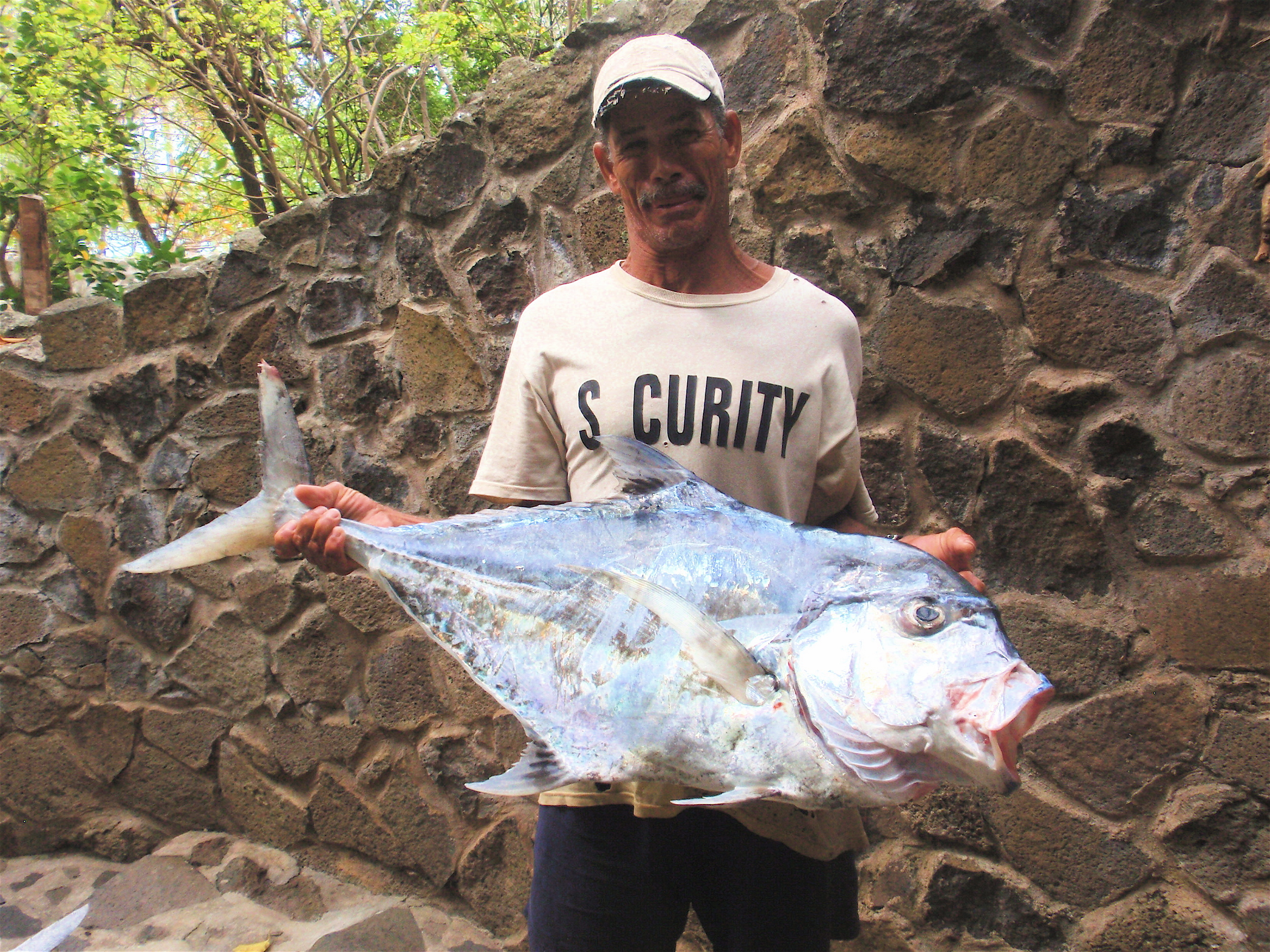 Andy Williams caught this 38-pound African Pompano from a kayak!