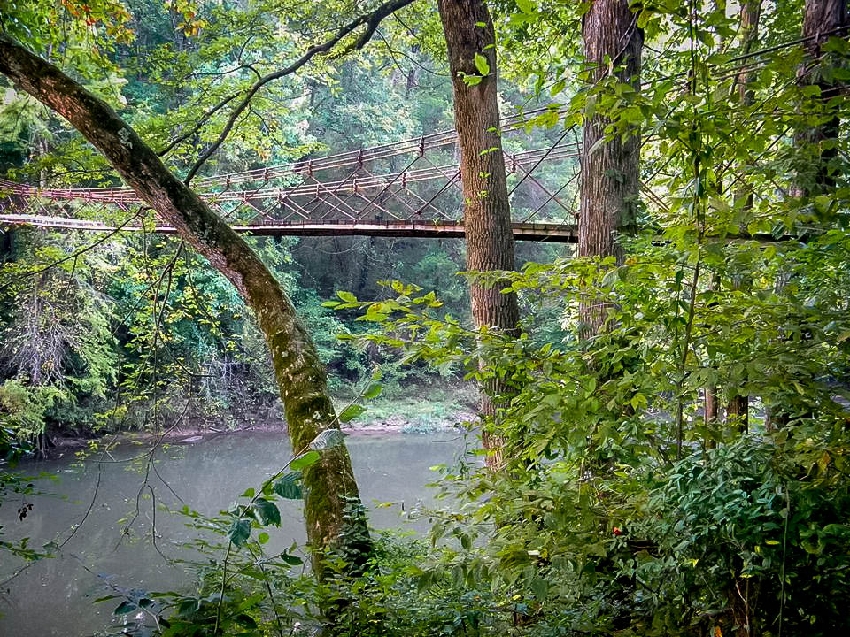 Tishomingo State Park Suspension Bridge