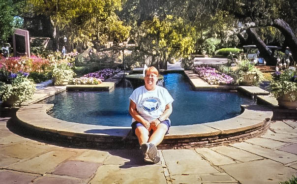 Me at Bellingrath Gardens, Alabama