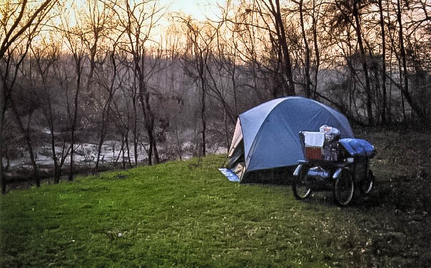 Camping on Natchez Trace Parkway