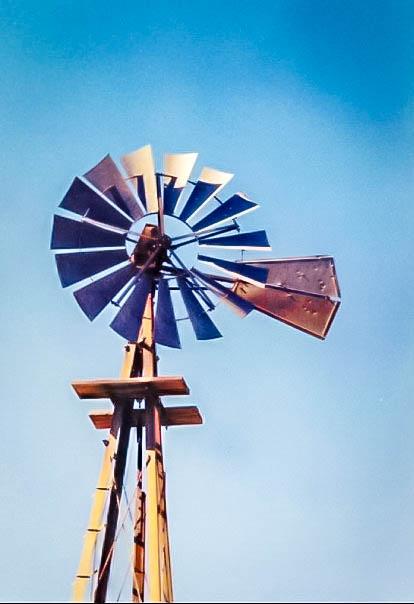 Windmill in Kansas