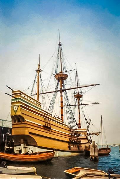 Mayflower II in Plymouth, MA