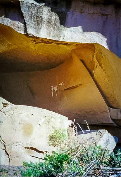 Petroglyphs in Colorado