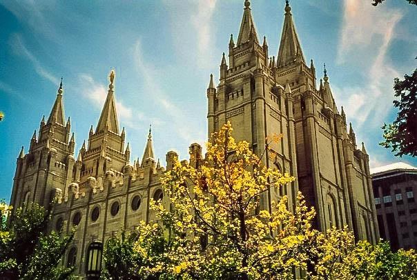 Mormon Tabernacle in Salt Lake City