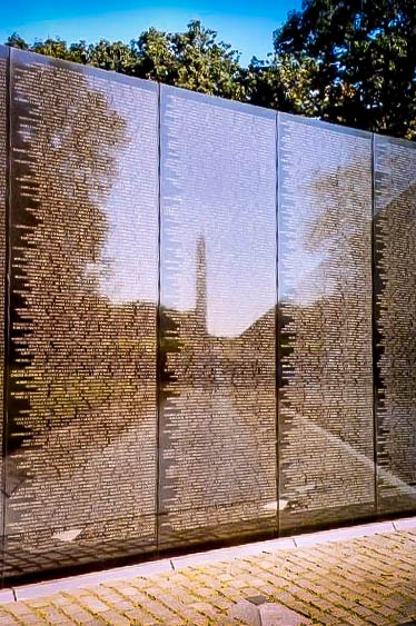 Vietnam Veterans Memorial in Washington, DC