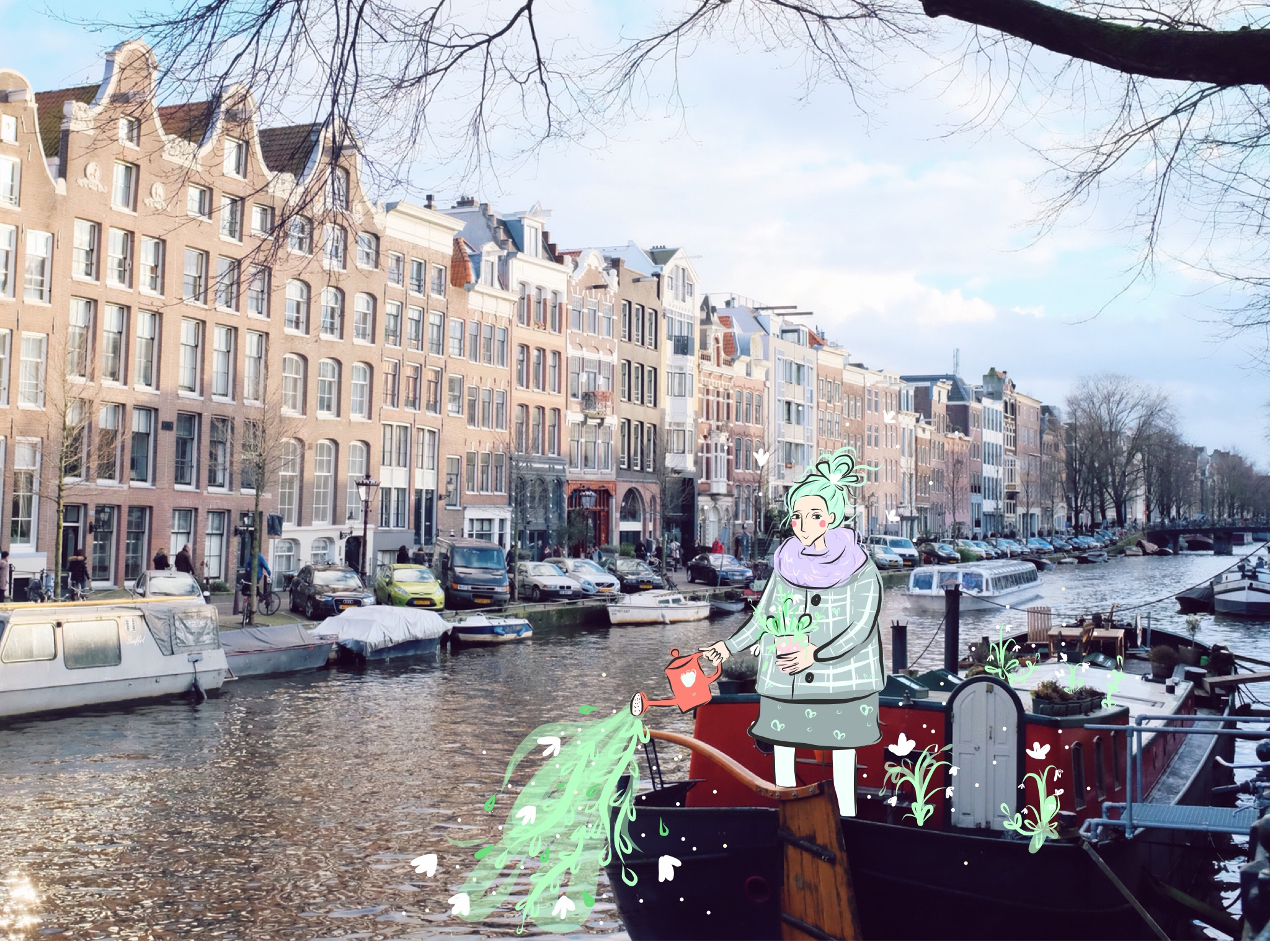 Amsterdam doodle by andsmile