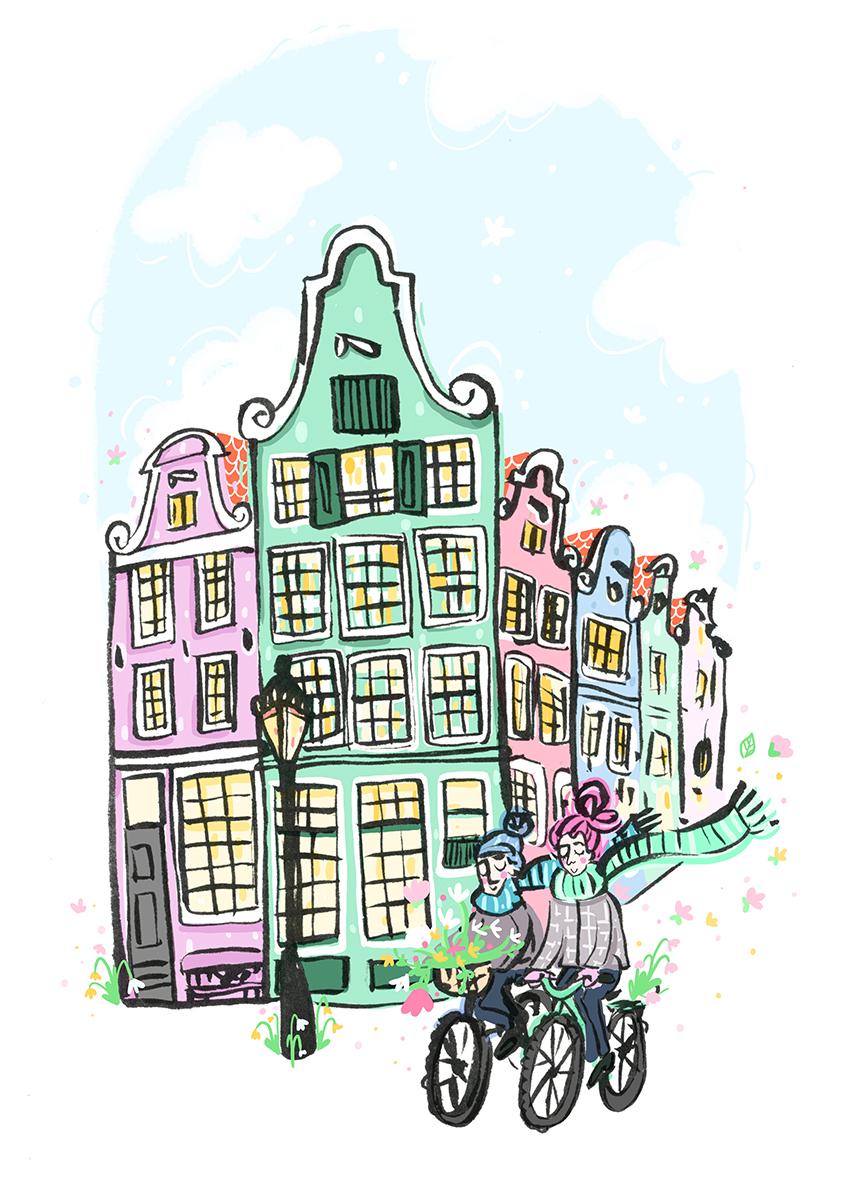Amsterdam Cyclists