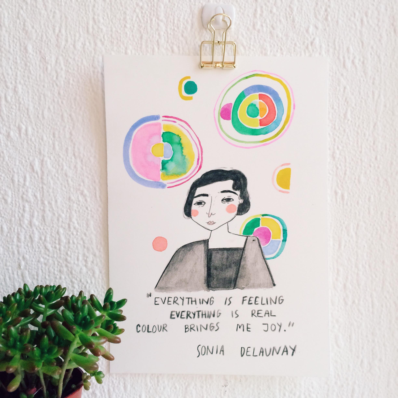 Sonia Delaunay by viktorija semjonova andsmile