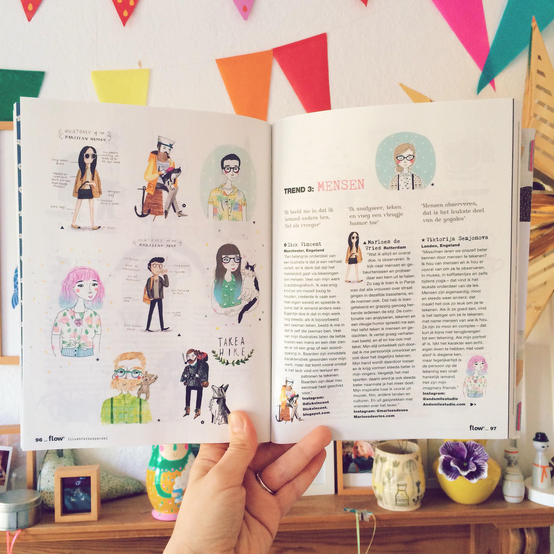 flow magazine and viktorija semjonova