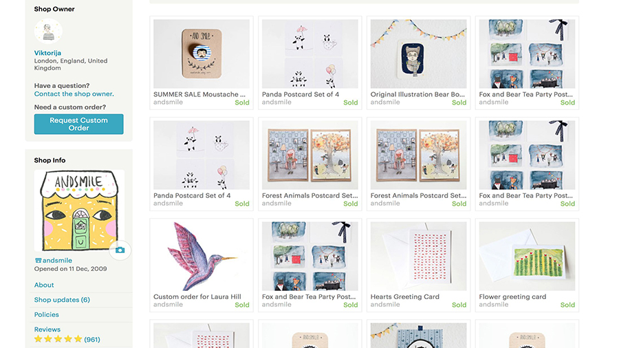 Some of the first items I sold on Etsy! :)