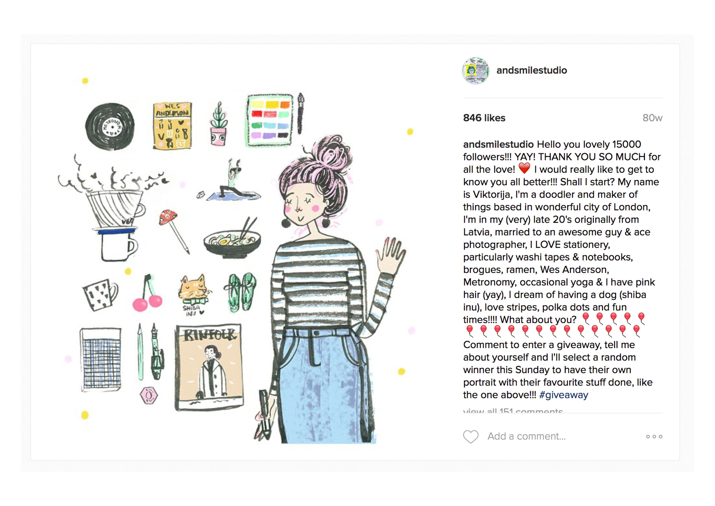 Silly idea to share who I am and what I love in an attempt to try to know people who follow me on insta and the response had my heart jump for joy and I did a little cry. I truly comprehended like how flipping big and awesome instagram community is!