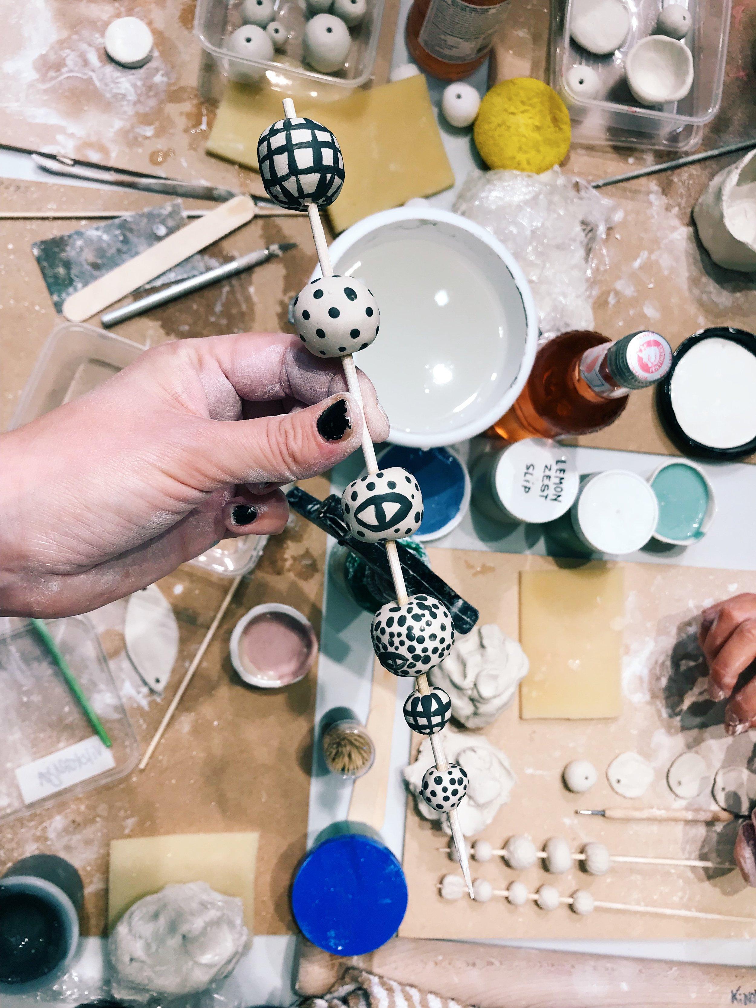 kinska workshop ceramics
