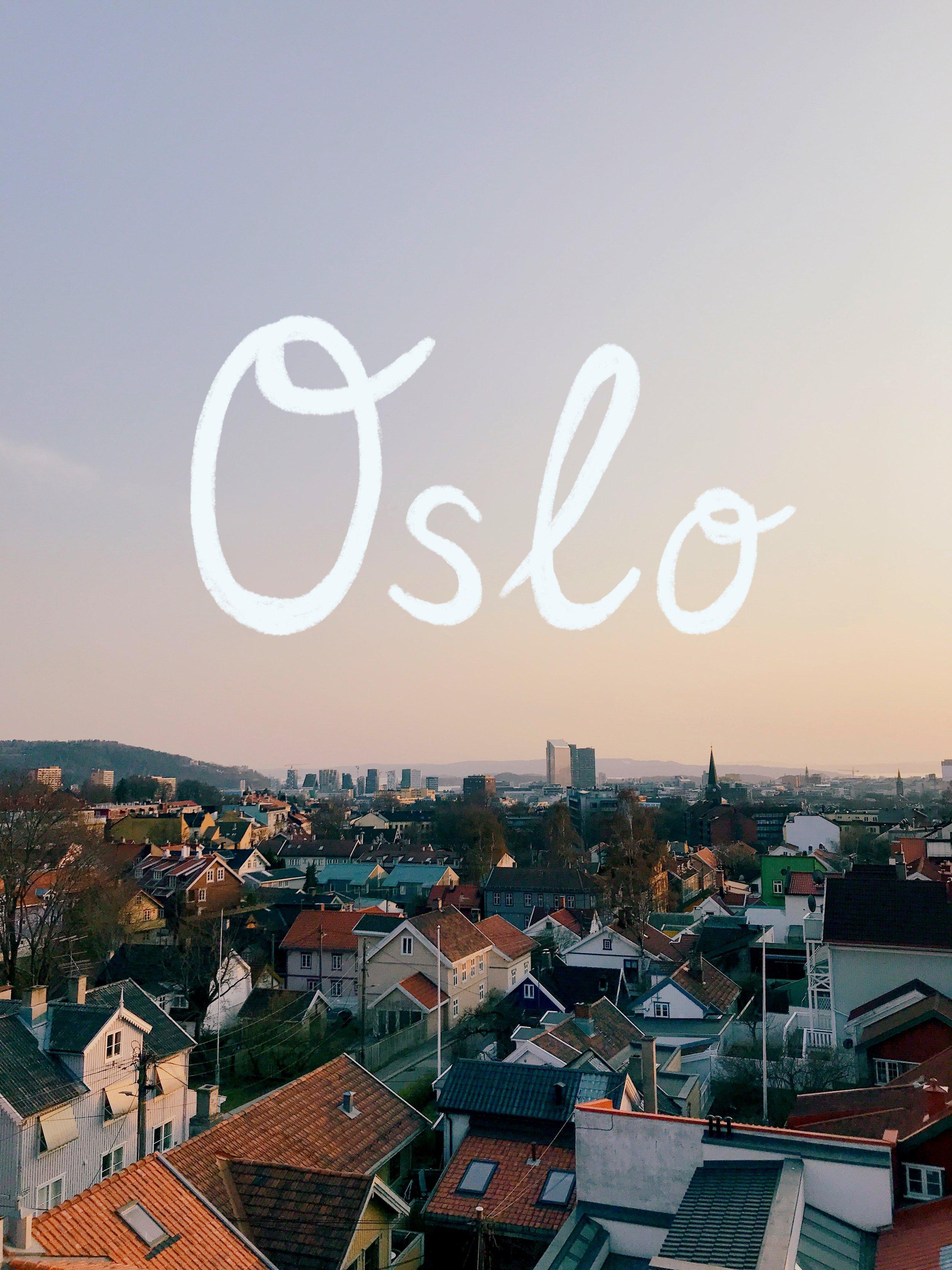 Oslo guide by viktorija