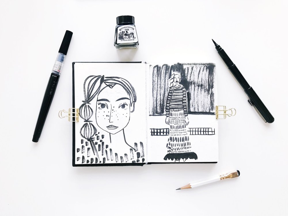 viktorija illustration sketchbook