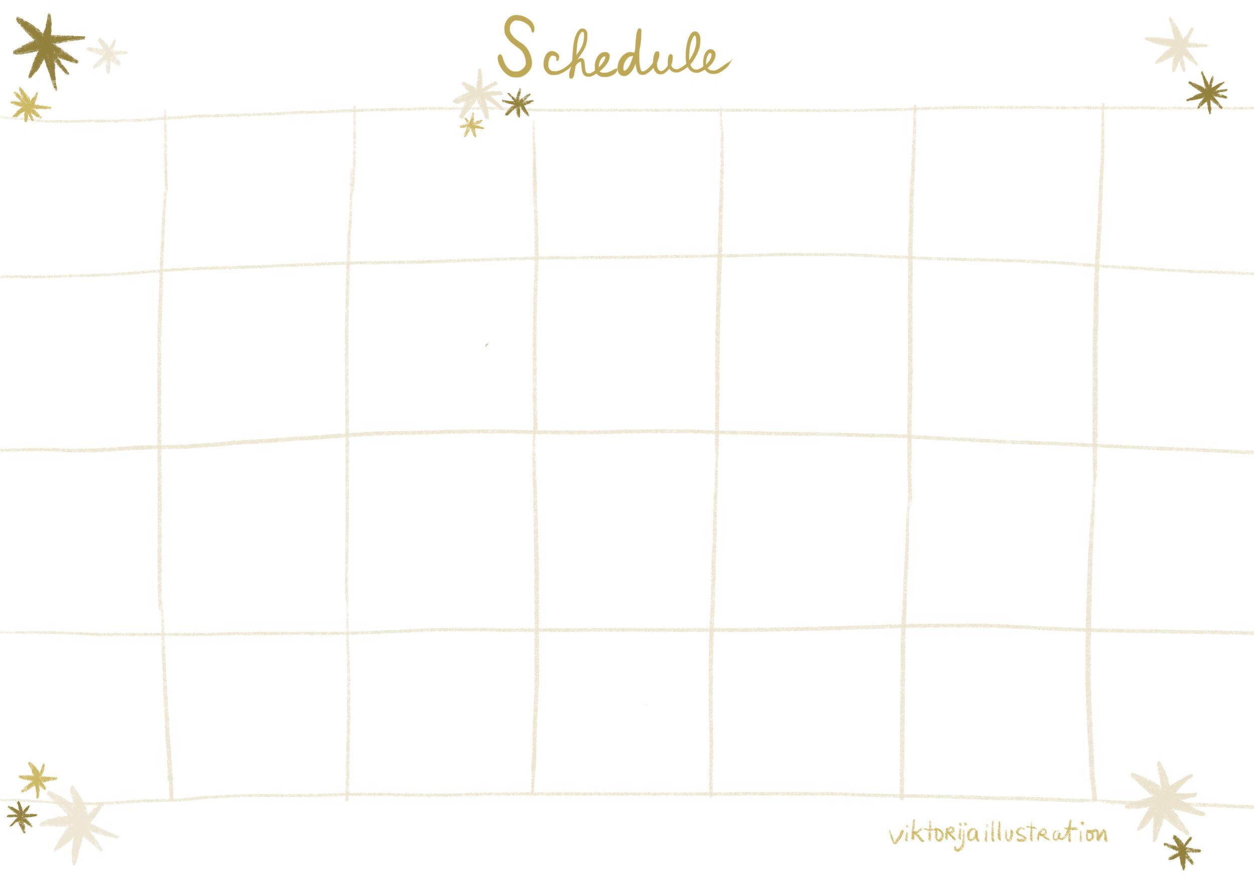 schedule printable A4 by viktorija.jpg