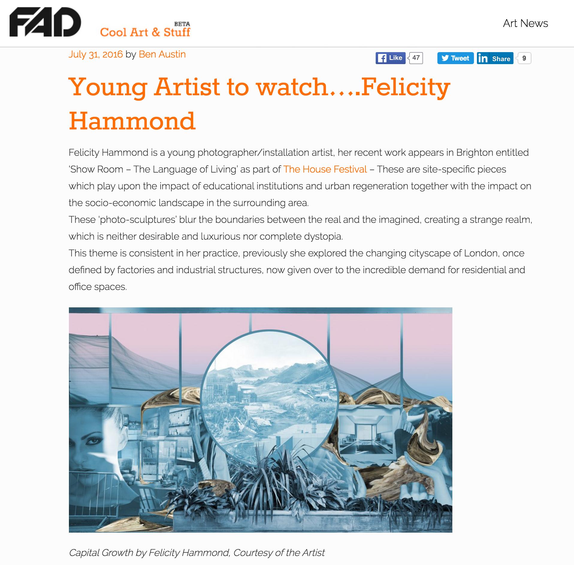 Source http://fadmagazine.com/2016/07/31/young-artist-watch-felicity-hammond/?utm_content=bufferbd735