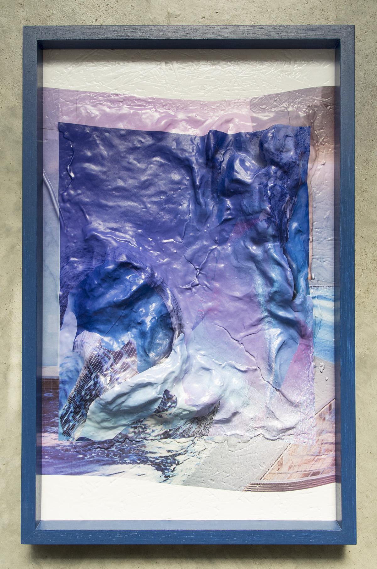 Surfacing 01   2017  Inkjet print on vacuum formed acrylic