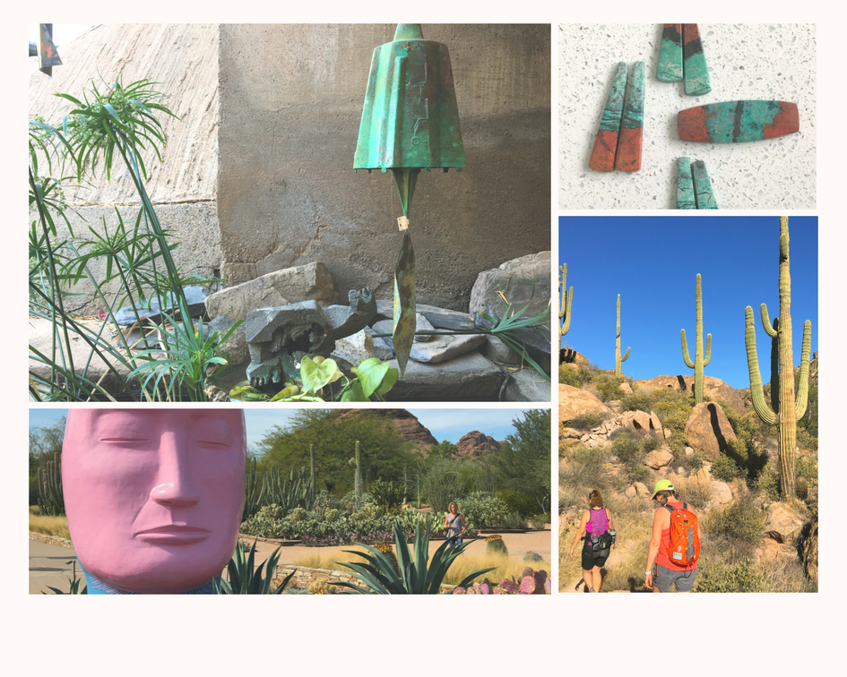 Images from the Phoenix Botanical Garden and Superstition Mountains