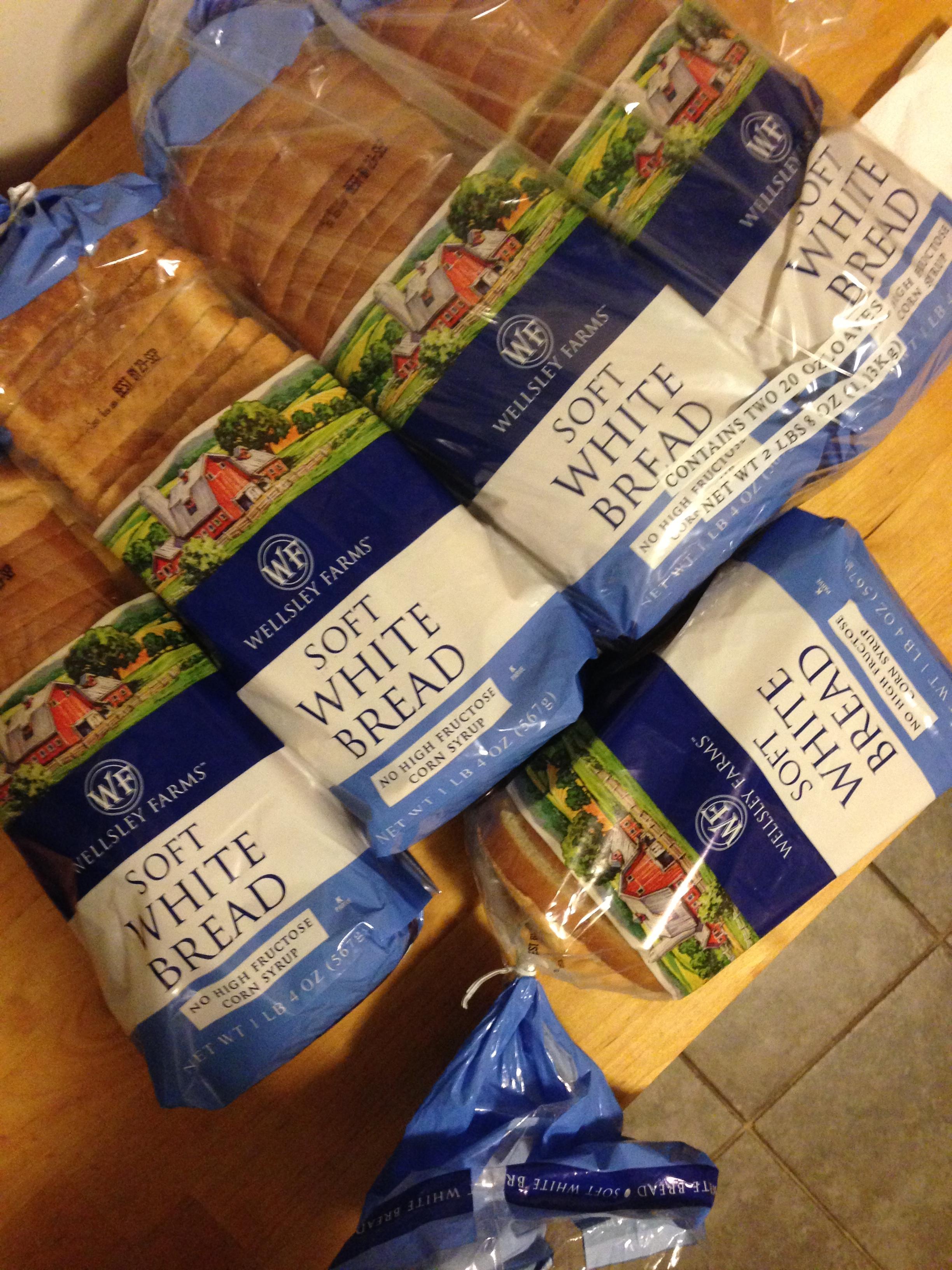 The White Bread Challenge Begins