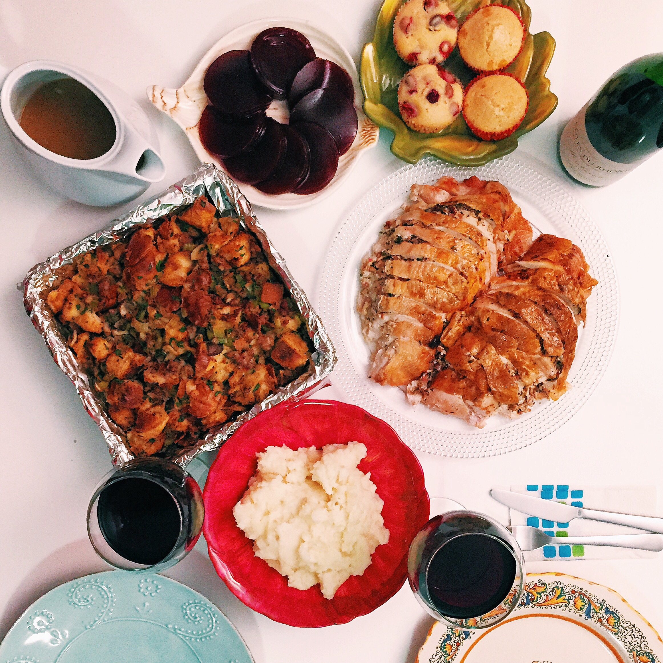 Thanksgiving for two :)