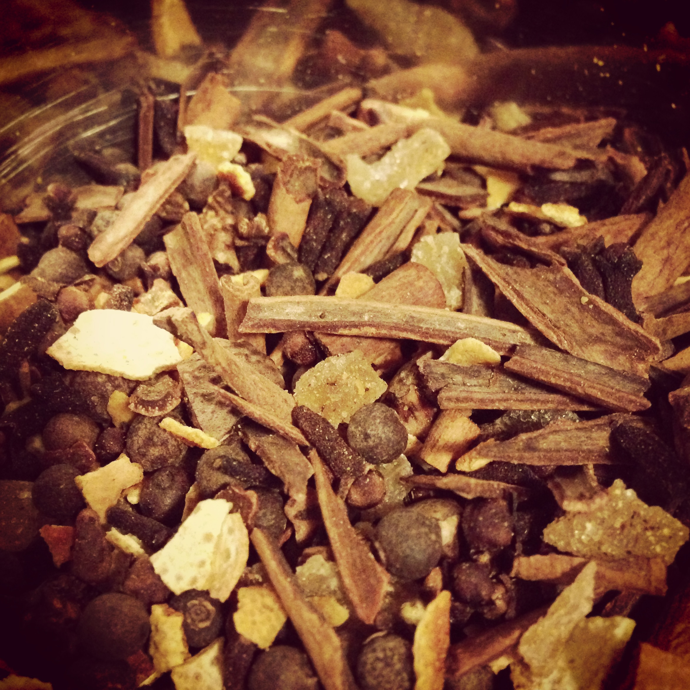 2012: Homemade mulling spices