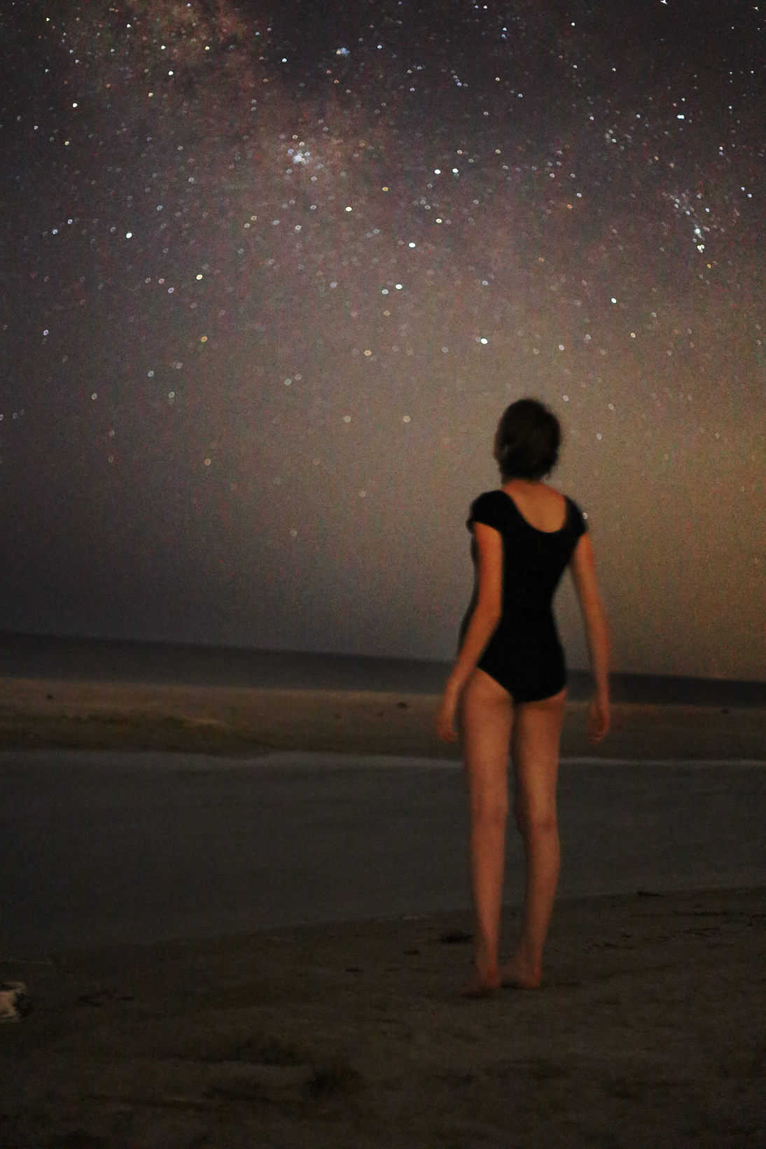 #5- This was taken on Jekyll Island on a family road trip. My mom and I walked outside to take a few photos of the stars and I was absolutely blown away by how well we were able to see them. Naturally, I ended up running around taking self portraits for half an hour. The way the sand looks in this picture reminds me a little bit of the moon's surface, which makes me like it even more.