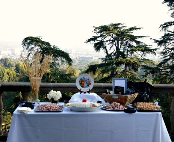 Food Station Terrace Greystone Mansion