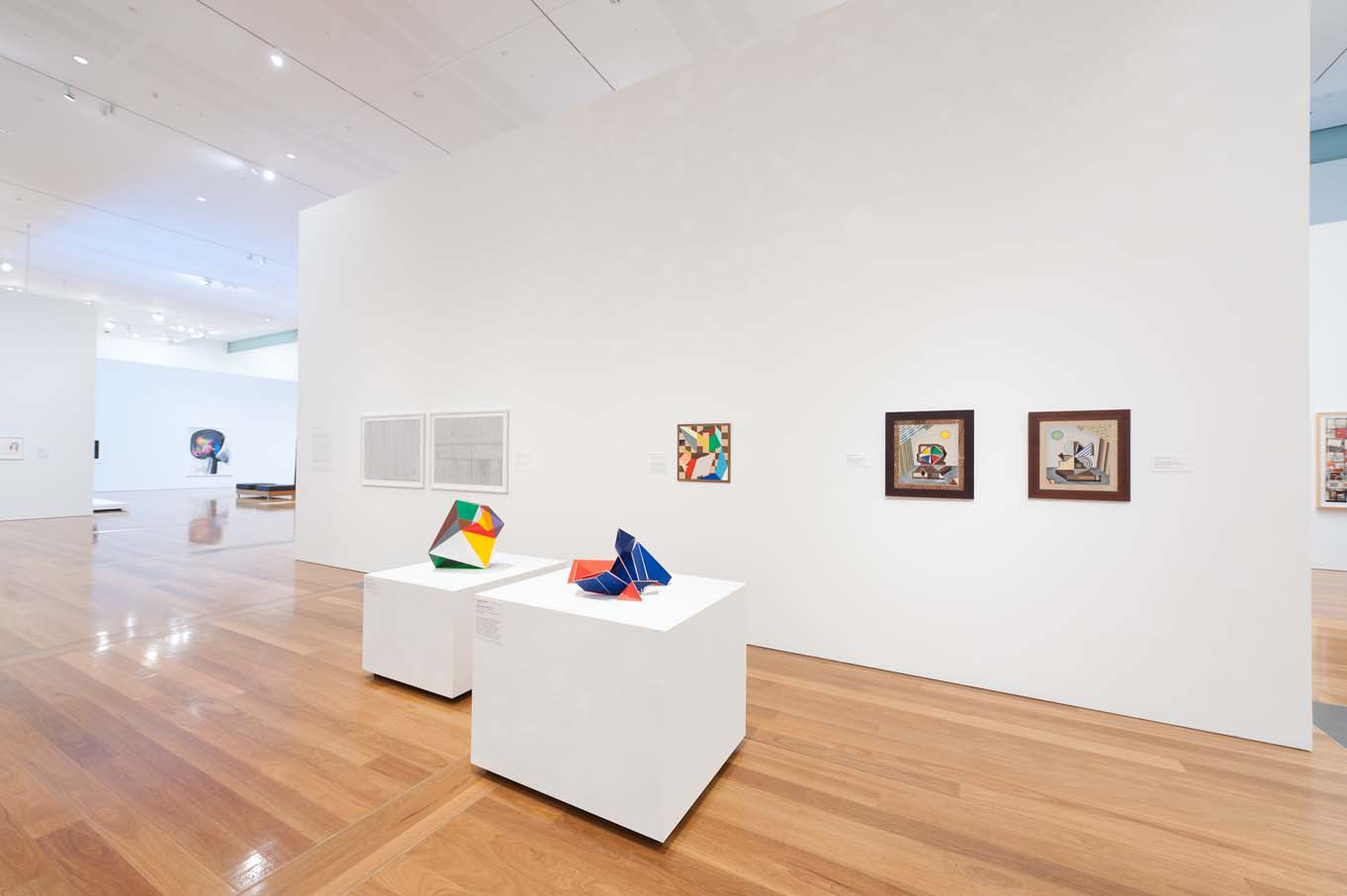 'Lightness & Gravity: Contemporary Works from the Collection'     2012  Gallery of Modern Art, Queensland Art Gallery, Brisbane  Installation view