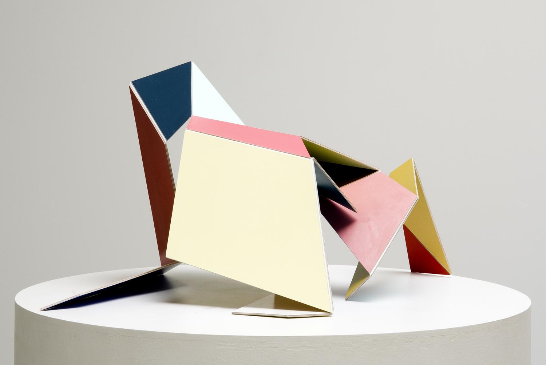 Adaptable (multicoloured) #1  2007  Acrylic on aircraft plywood dimensions variable