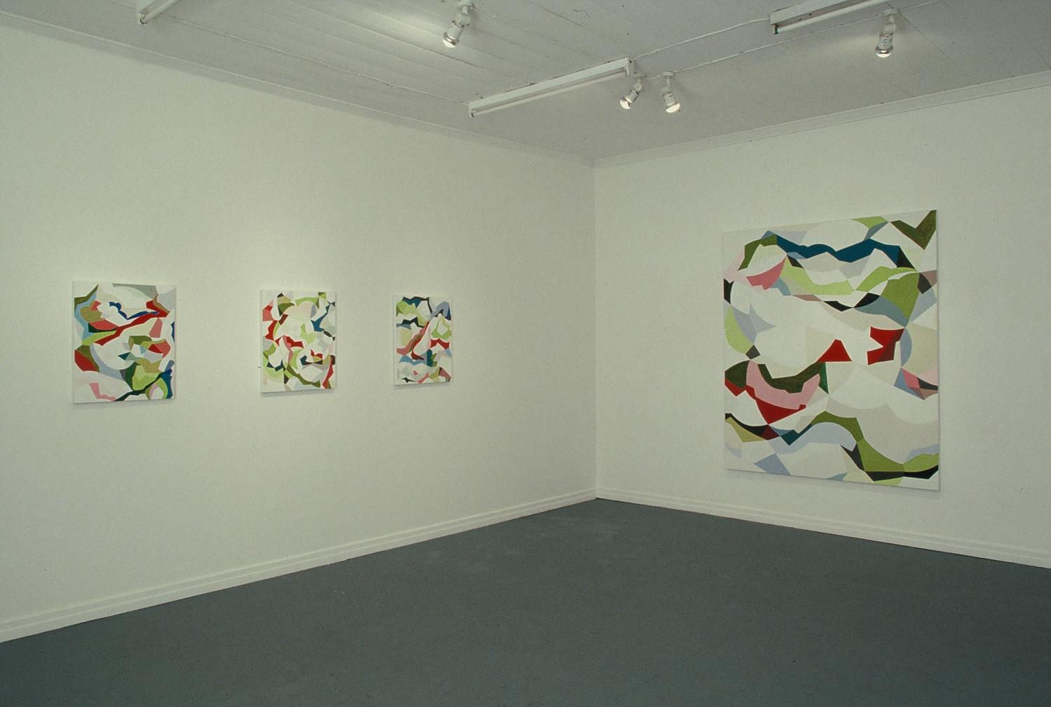'Gemma Smith'  2004  The Farm, Brisbane Installation view