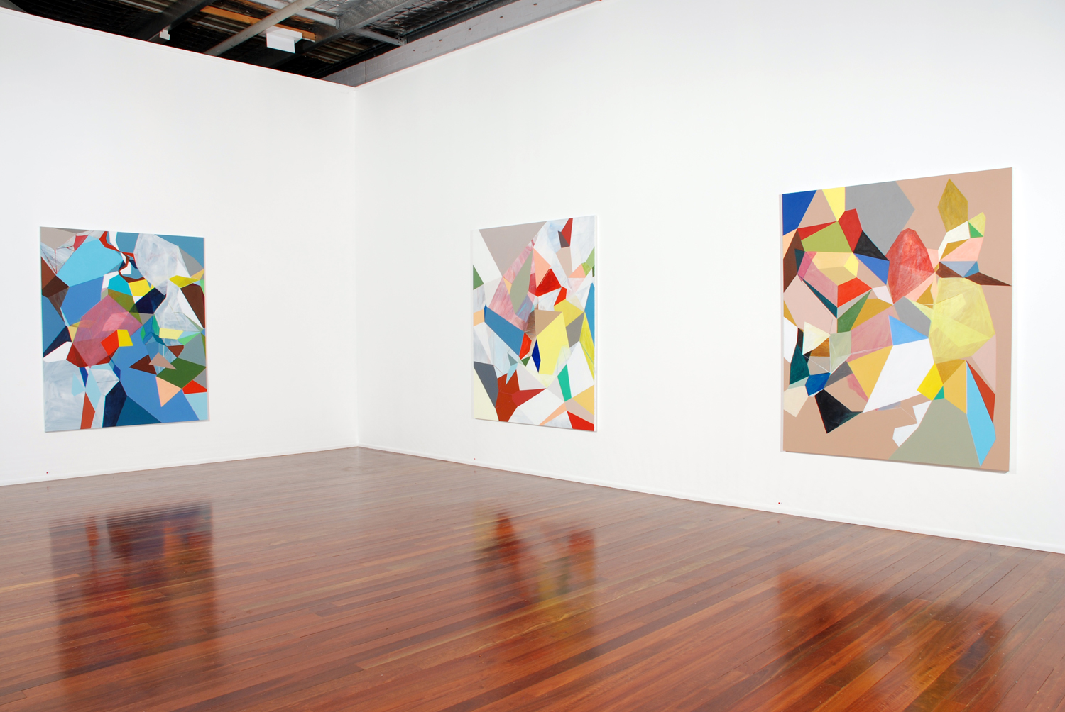 'New Paintings & Sculptures'  2008  Milani Gallery, Brisbane Installation view
