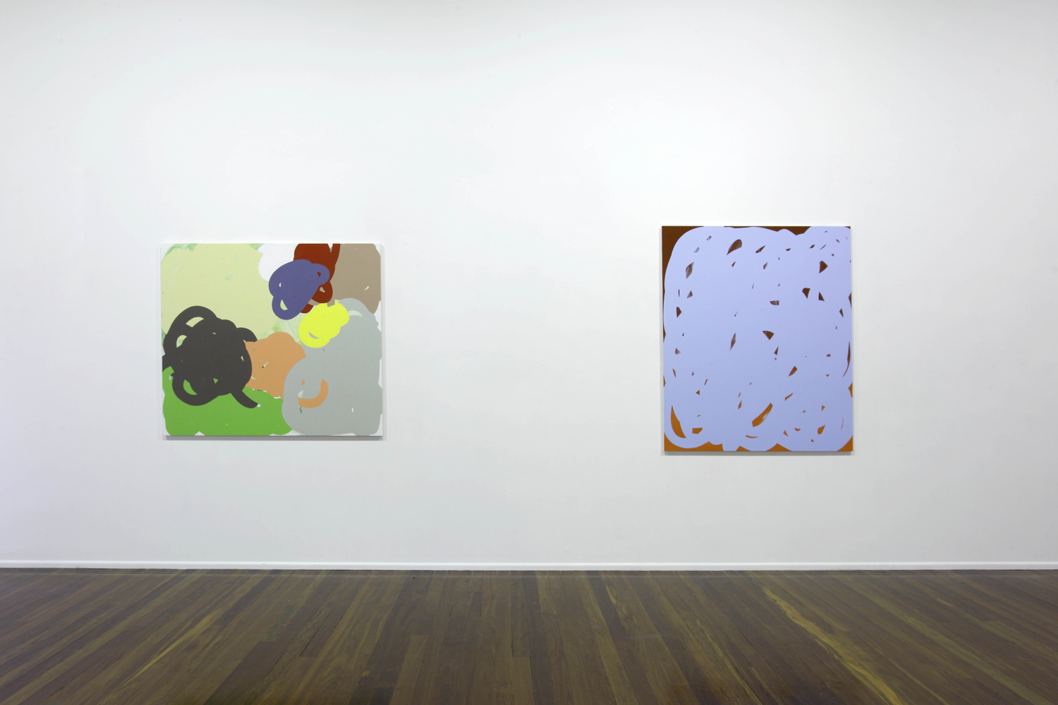 'Collision and Improvisation'  2010  Milani Gallery, Brisbane Installation view