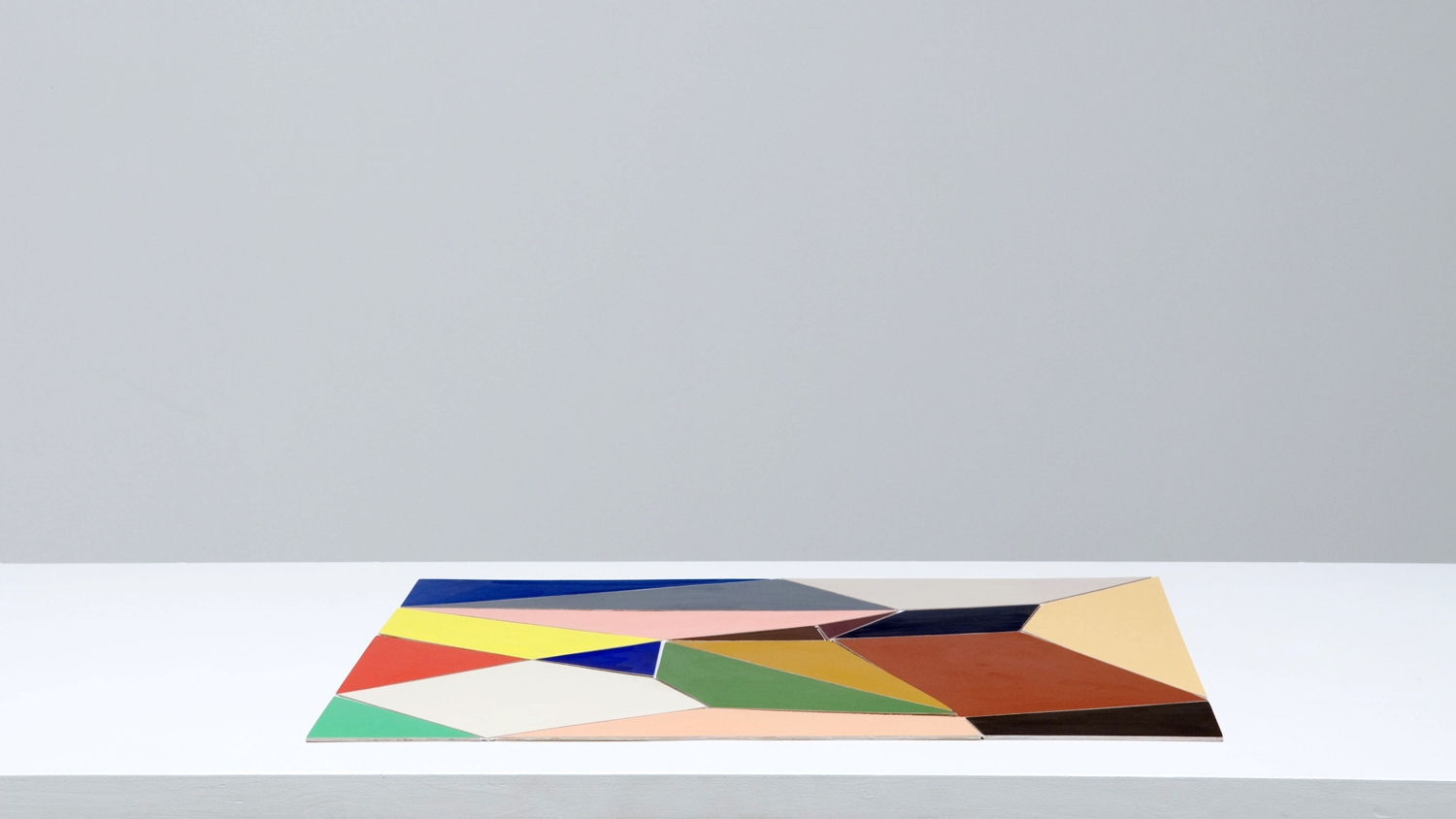 Multicoloured Adaptable #4   2008  Acrylic on aircraft plywood Dimensions variable