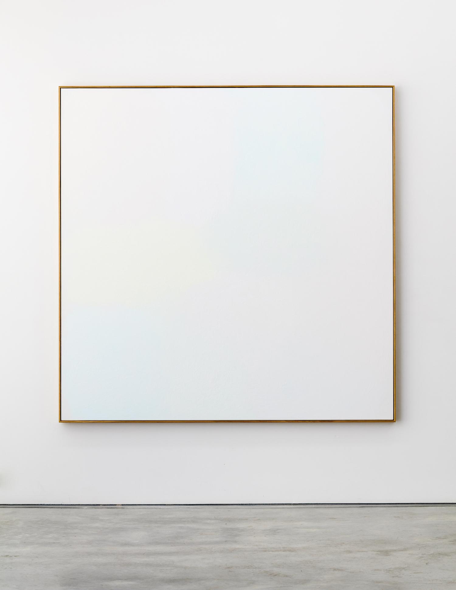 Eleven  2018  Acrylic on linen 185 x 185 cm
