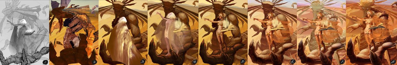 Desert Witch - Progress