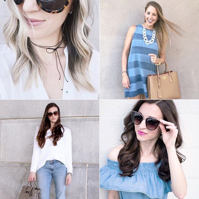 Nothing but blue skies with these lovies cause it's #FollowFriday! Check out @stesharose @lawrenbagley @classicandgray @lipglossandlabels! . . . #dallasblogger #fashion  #styleblog #style #picoftheday #fashionblog #blogger #fblogger #currentlywearing #styleblogger #lookbook #flashesofdelight #mystyle #pursuepretty #todaysoutfit #bloggerstyle #fashiongram #fashionaddict #fashionista #outfitoftheday #ootd #streetstyle #fashioninspo #lookoftheday #ootdwatch #wiwt #followme #yougotitright #weekendstyle