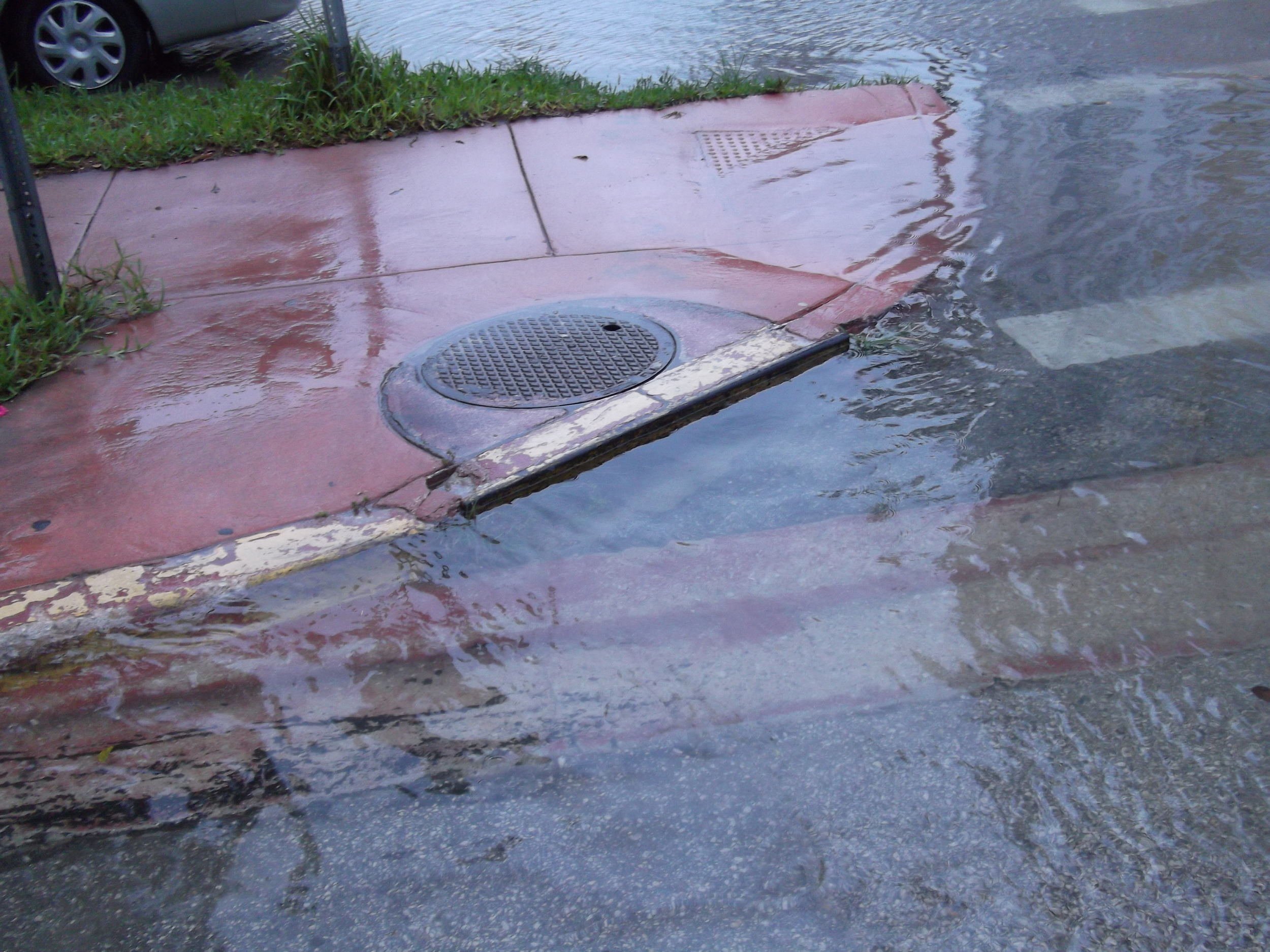Stormwater flooding in Miami Beach, FL