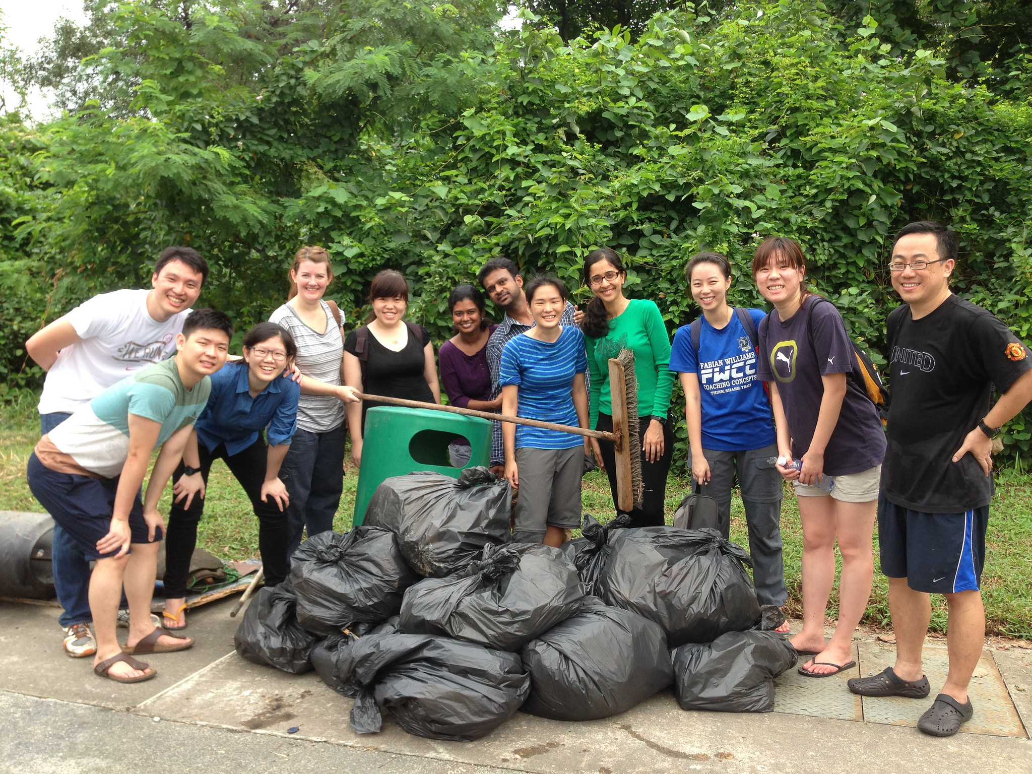 International Coastal Cleanup - 2014 - Pandan Mangrove - Singapore