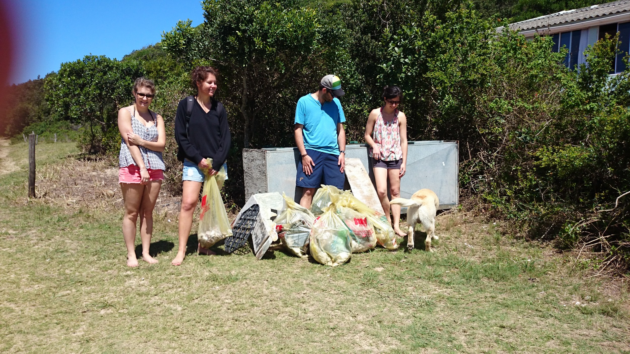 International Coastal Cleanup 2014 - Rhodes University - South Africa