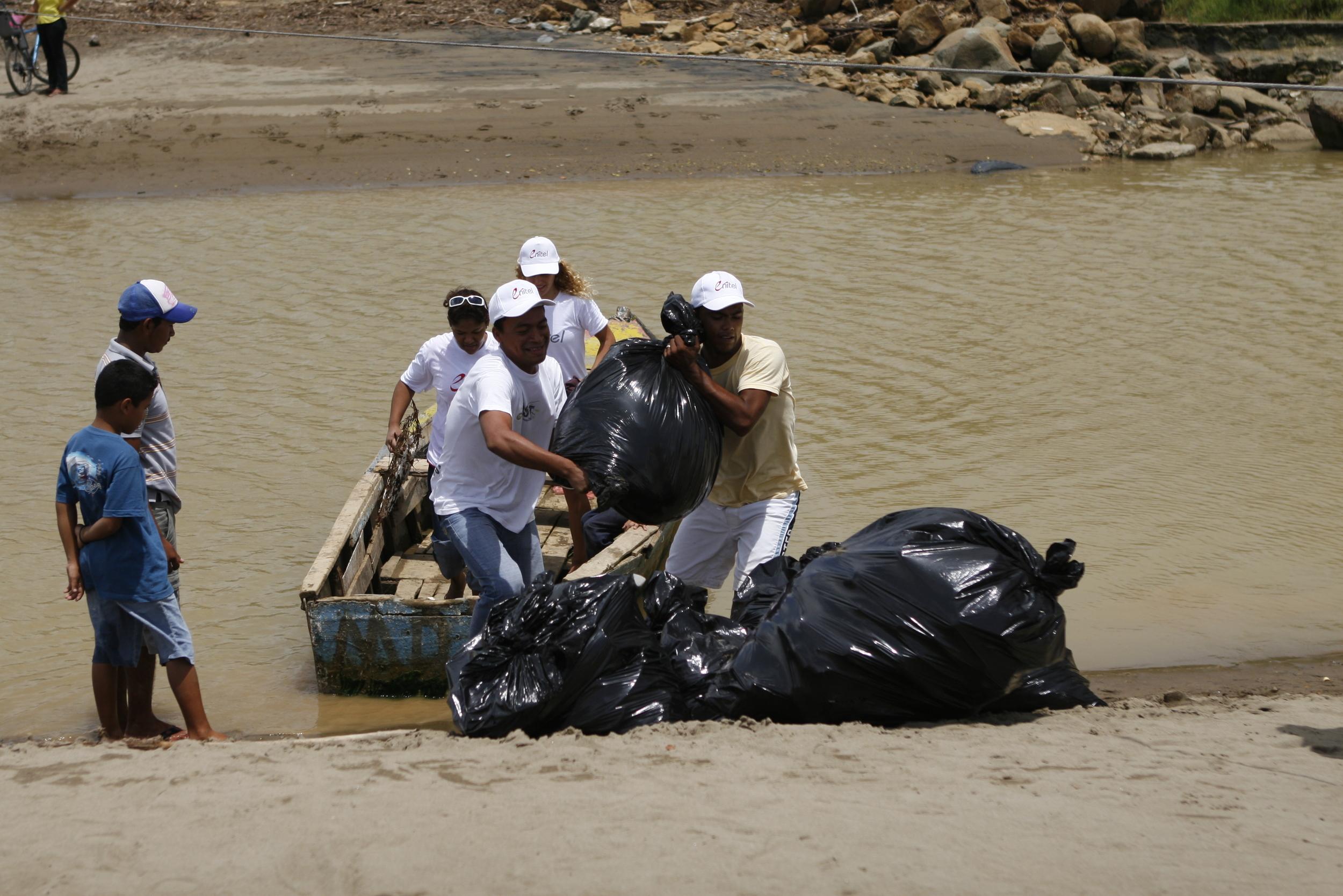 International Coastal Cleanup 2008 - Nicaragua