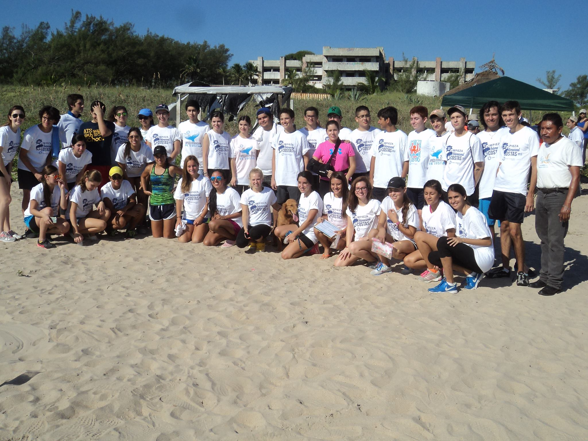 International Coastal Cleanup - Tampic - Mexico - September 2015