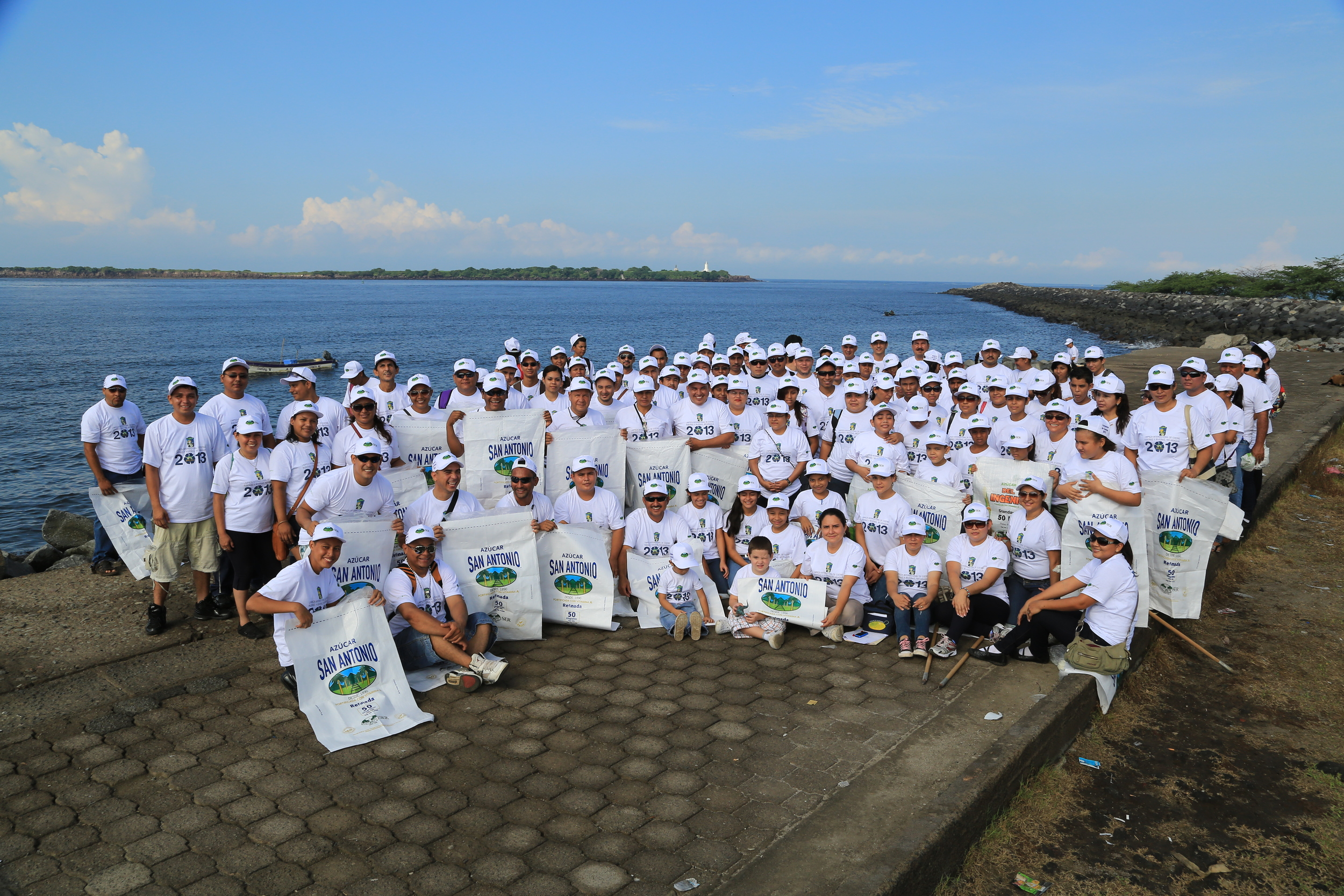 International Coastal Cleanup - 2013 - Paso Pacifico - Nicaragua