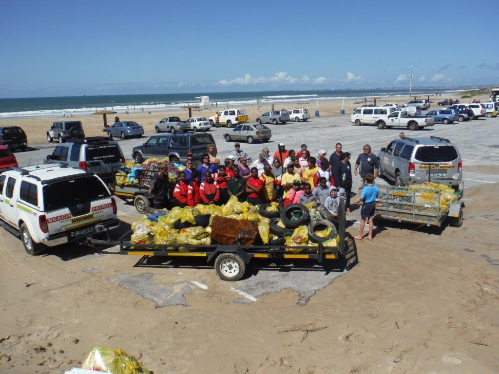 International Coastal Cleanup 2015 - Zwartkops Conservancy