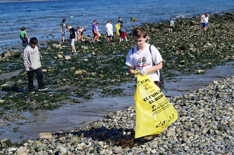 International Coastal Cleanup 2015 - Puget Sound