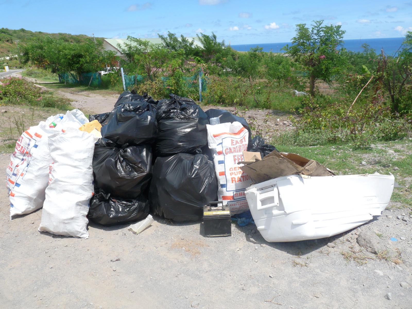 International Coastal Cleanup 2015 - Saint Kitts and Nevis