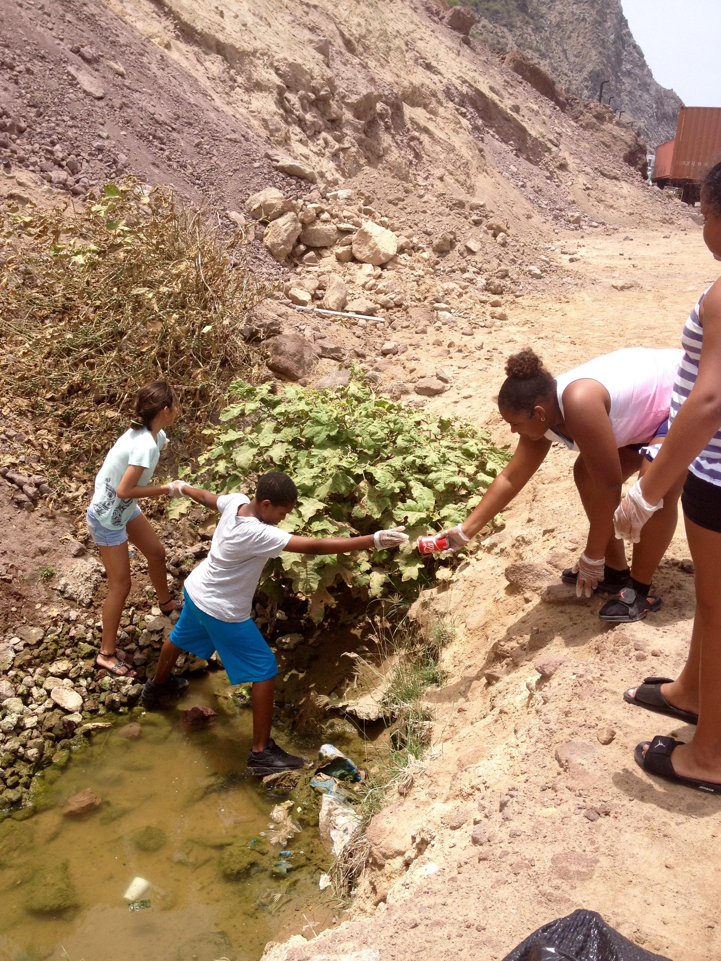 International Coastal Cleanup 2015 - Saba Conservation Foundation (SCF)