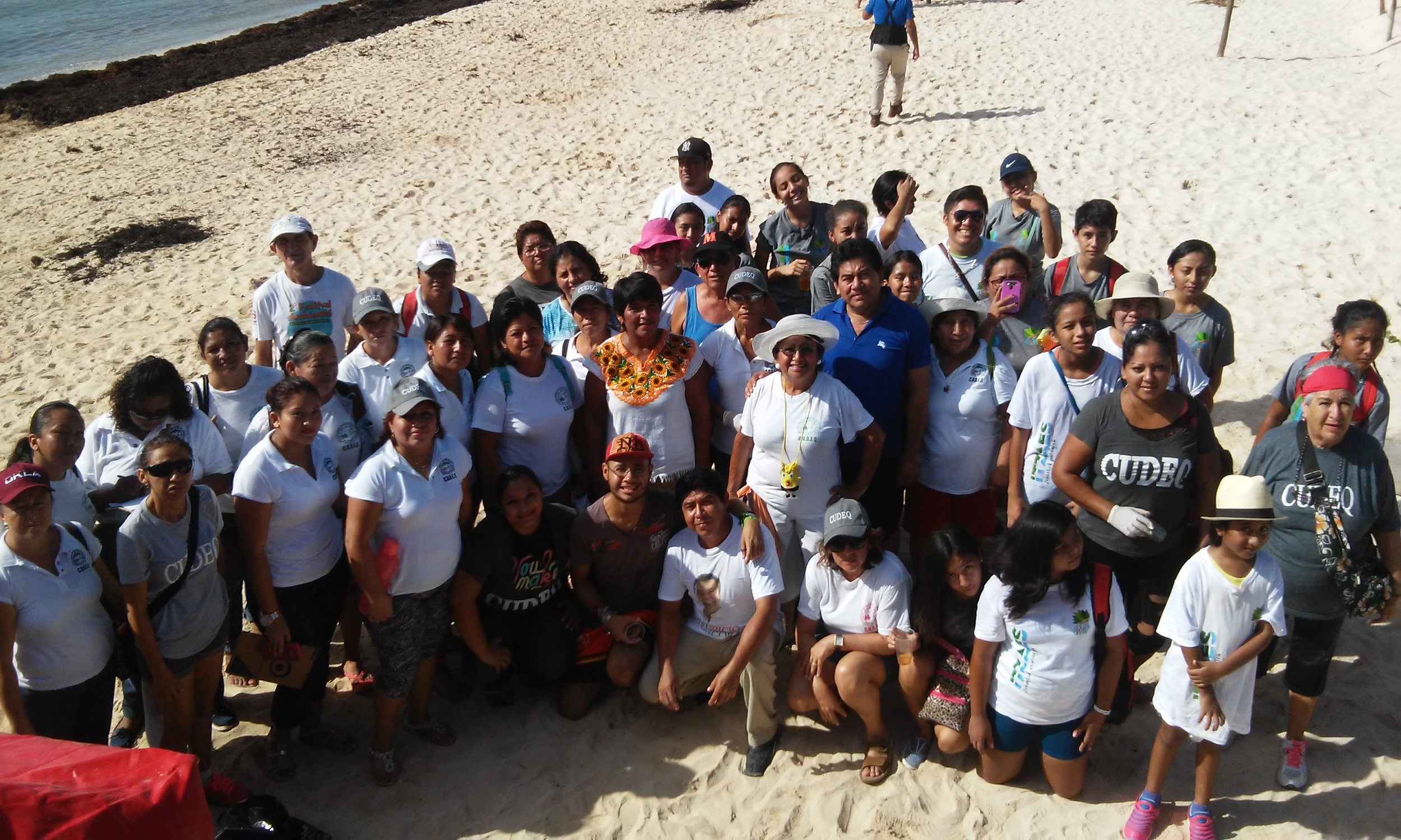 International Coastal Cleanup 2015 - Mexico - Playa del Carmen